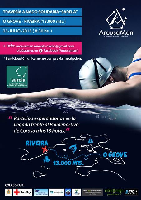 arousaman 2015. 7 nadadores