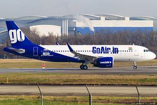GoAir Airbus A320-271N cn 8736 F-WWBD // VT-WJH