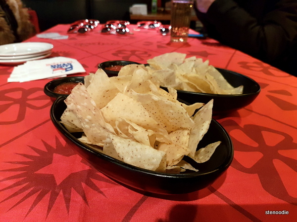 Lone Star Texas Grill Chips and dip