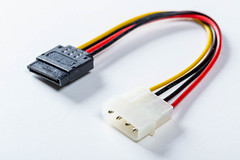 Power cable PC-4pin peripheral connector-Serial ATA power connector