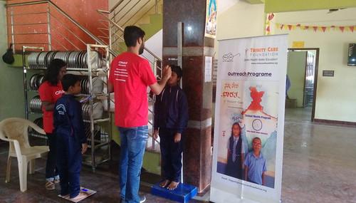 Health Program in Morarji Desai School, Hoskote Taluk
