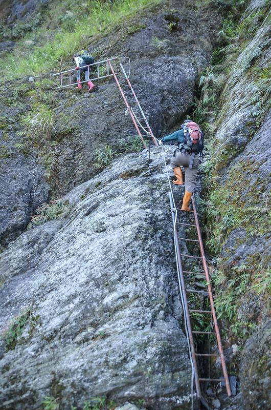 岩壁鐵梯段 (3)