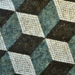 Roman illusionist floor mosaic, Museo Nazionale Romano, Palazzo Massimo alle Terme, Rome - https://www.flickr.com/people/11200205@N02/