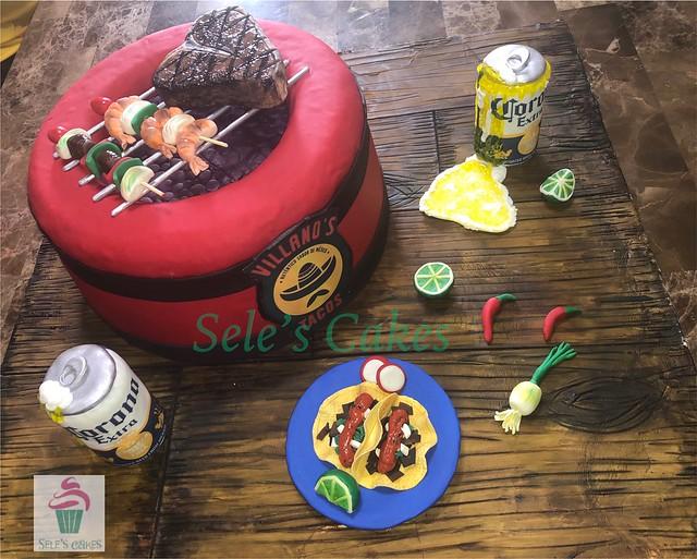 Cake by Selene Alvahuante-Viggiano of Sele's Cakes