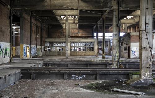 Remise Monceau Charleroi 6 april 2019