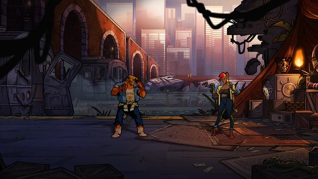 Streets of Rage 4 - Poussin Noir