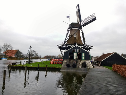 Smock mill 'De Jager' - 'The Hunter', AD 1719, Woudsend, Fryslân - The Netherlands (124216601)