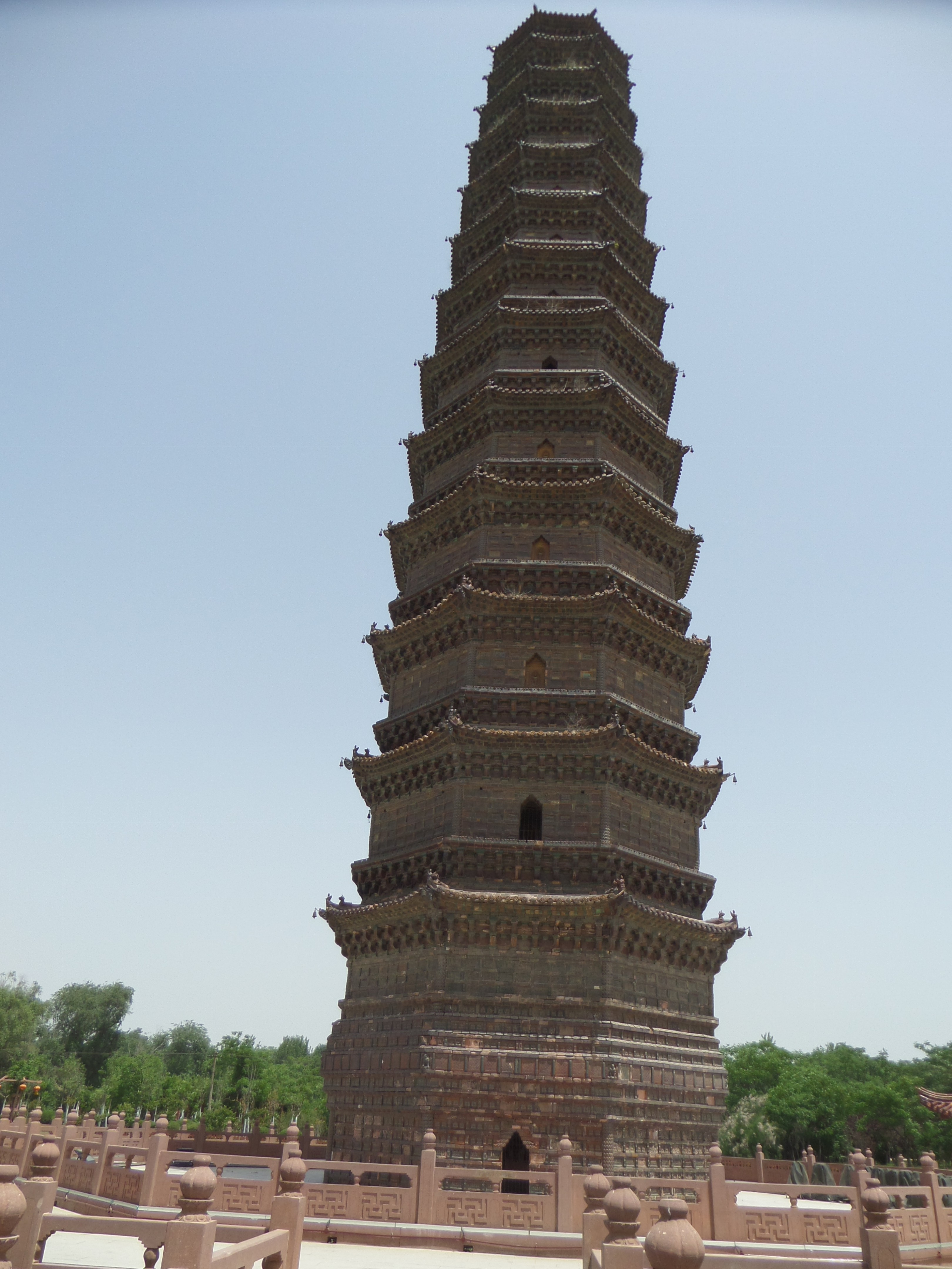 The Iron Pagoda in Kaifeng, Henan, China.