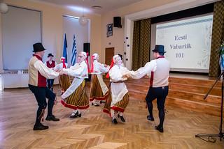 Eesti Vabariigi 101. aastapäeva kontsert-vastuvõtt 22. veebruaril 2018