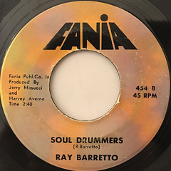 RAY BARRETTO:MERCY MERCY BABY(LABEL SIDE-B)