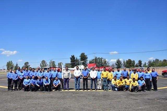 Presentación de la Estrategia de Prevención y Combate de Incendios en Temporal de Estiaje