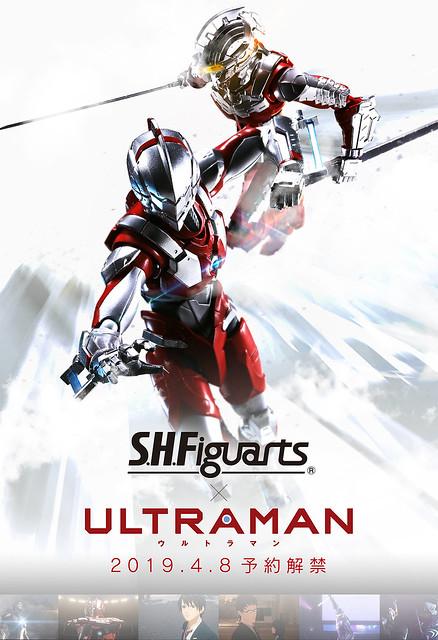 【官圖&販售資訊新增】S.H. Figuarts 《超人力霸王ULTRAMAN》「ULTRAMAN SUIT 動畫版本」情報公開!ULTRAMAN -the animation-