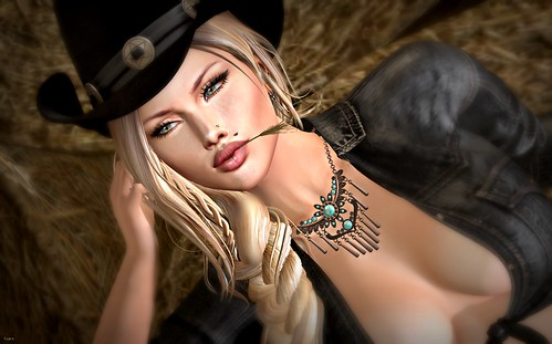 💕Session Skin & OAL* Blossom Necklace💕 | by Yasiren