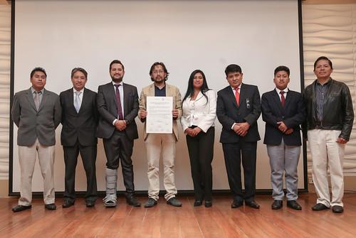 Presentación del Plan Nacional para la Reducción de Riesgos de Desastres en Educación - Quito