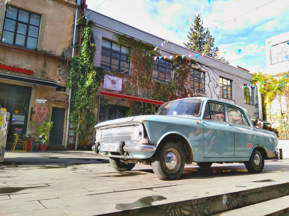 Things to do in Tbilisi: Visit the Fabrika Neighborhood