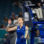 Karolina Pliskova of the Czech Republic