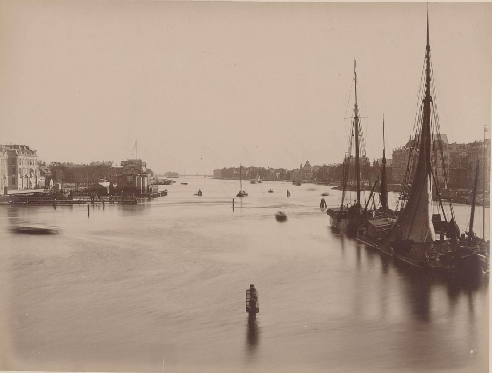 Амстердам. Амстел, 16 мая 1888