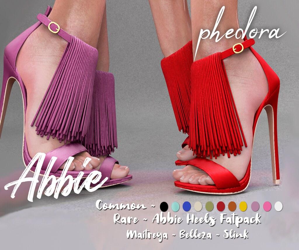 "Phedora. for The Epiphany – ""Abbie"" heels Gacha♥"