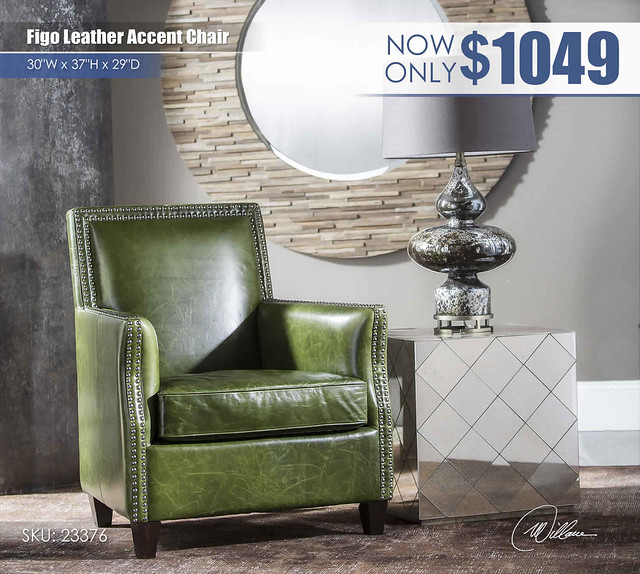 Figo Leather Accent Chair_r23376