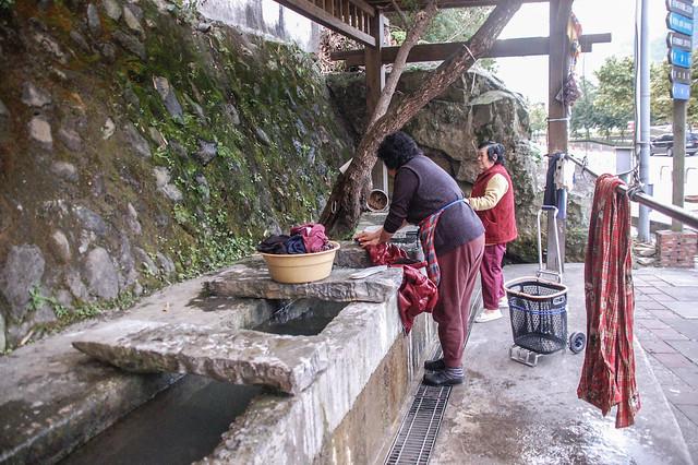 南庄--百年洗衣坑