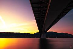 Sunset, Pont des Lônes - Valence