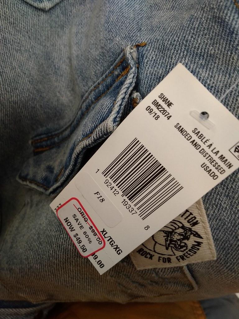 Buffalo David Bitton牛仔衬衫34.65加元