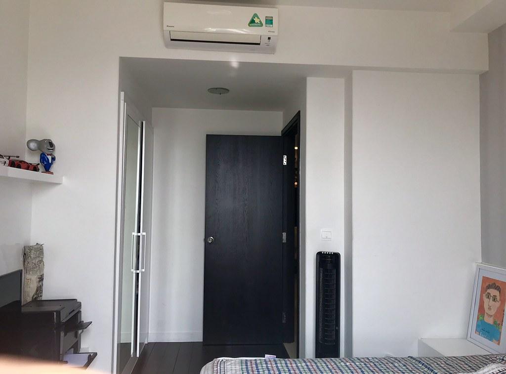 Phòng ngủ full nội thất. (Sunrise city tháp V1 3 phòng ngủ).