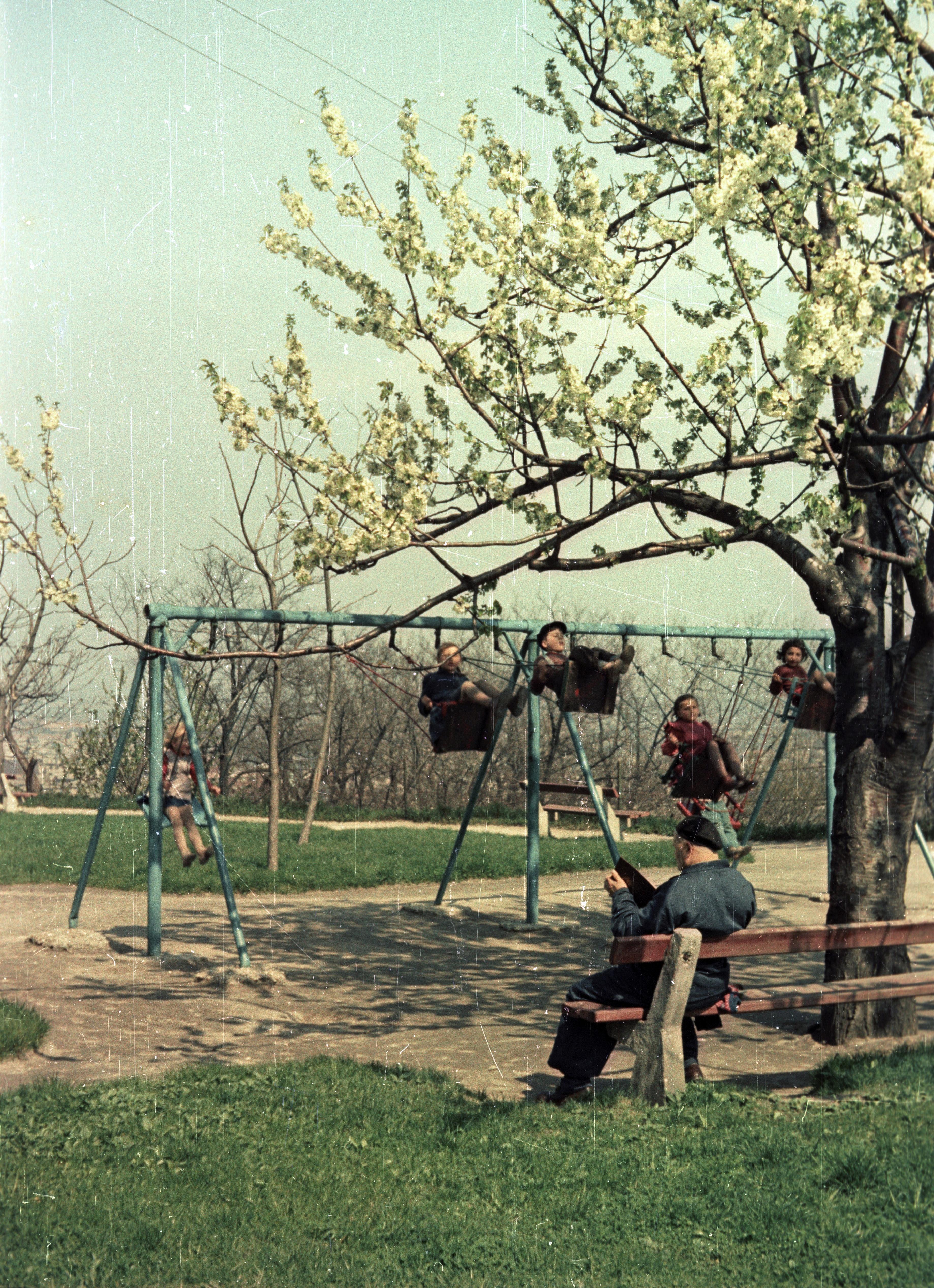 Братислава. Детская площадка в замке