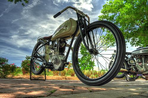 Harley Davidson 1928 Peashooter