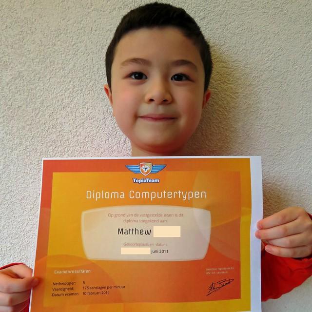 Typing diploma