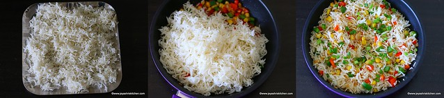 sweet corn fried rice 3