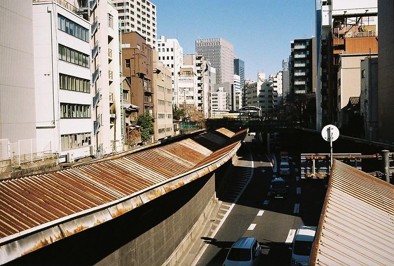 Leica M2+Leitz Summicron 35mm f2 0+Kodac Ultramax 400明石町首都高