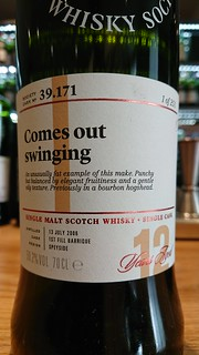SMWS 37.171 - Comes out swinging