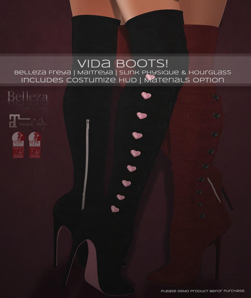 🎀 Vida Boots! 🎀 - TeleportHub.com Live!