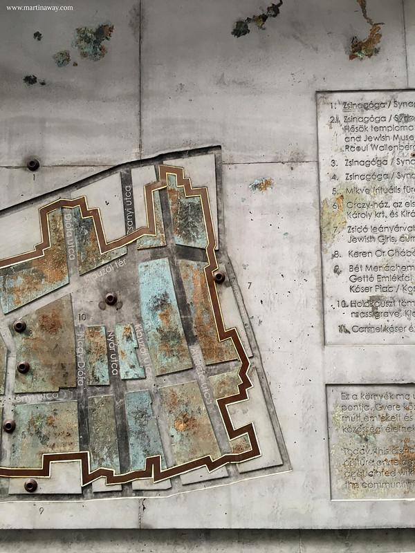 Mappa del Ghetto Ebraico