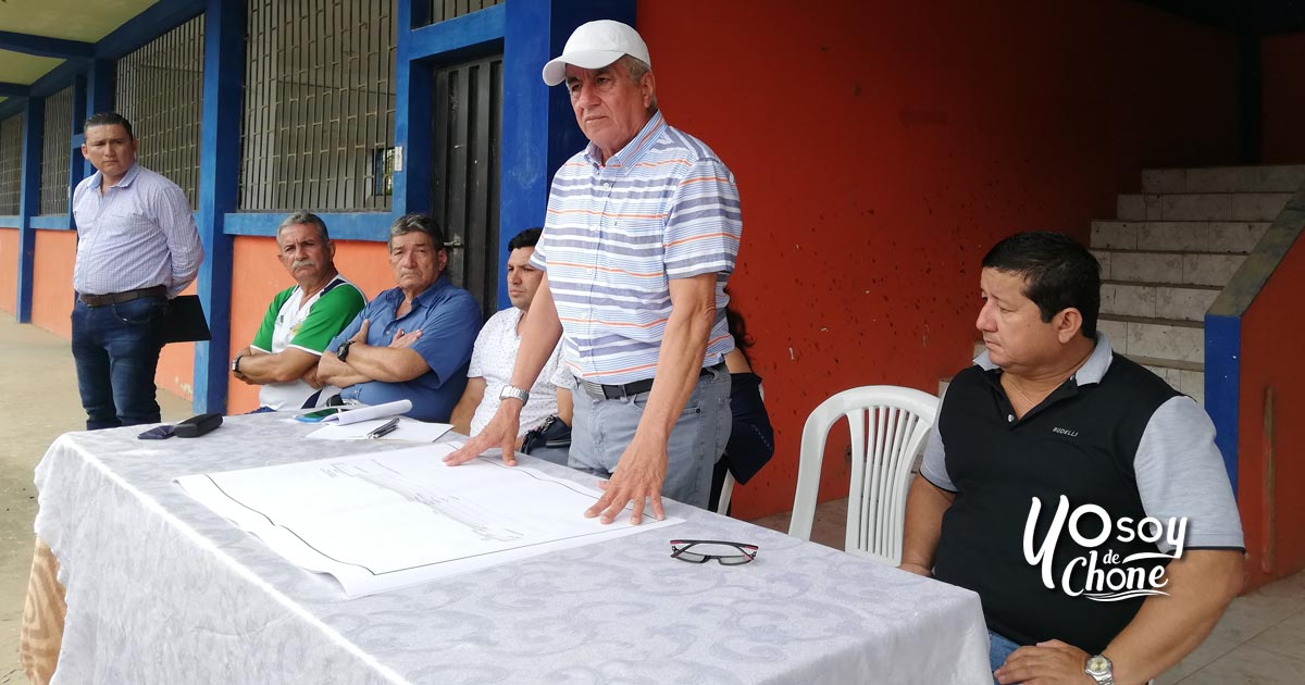 Con la socialización se iniciaron los trabajos para construcción de la calle de Puerto Arturo