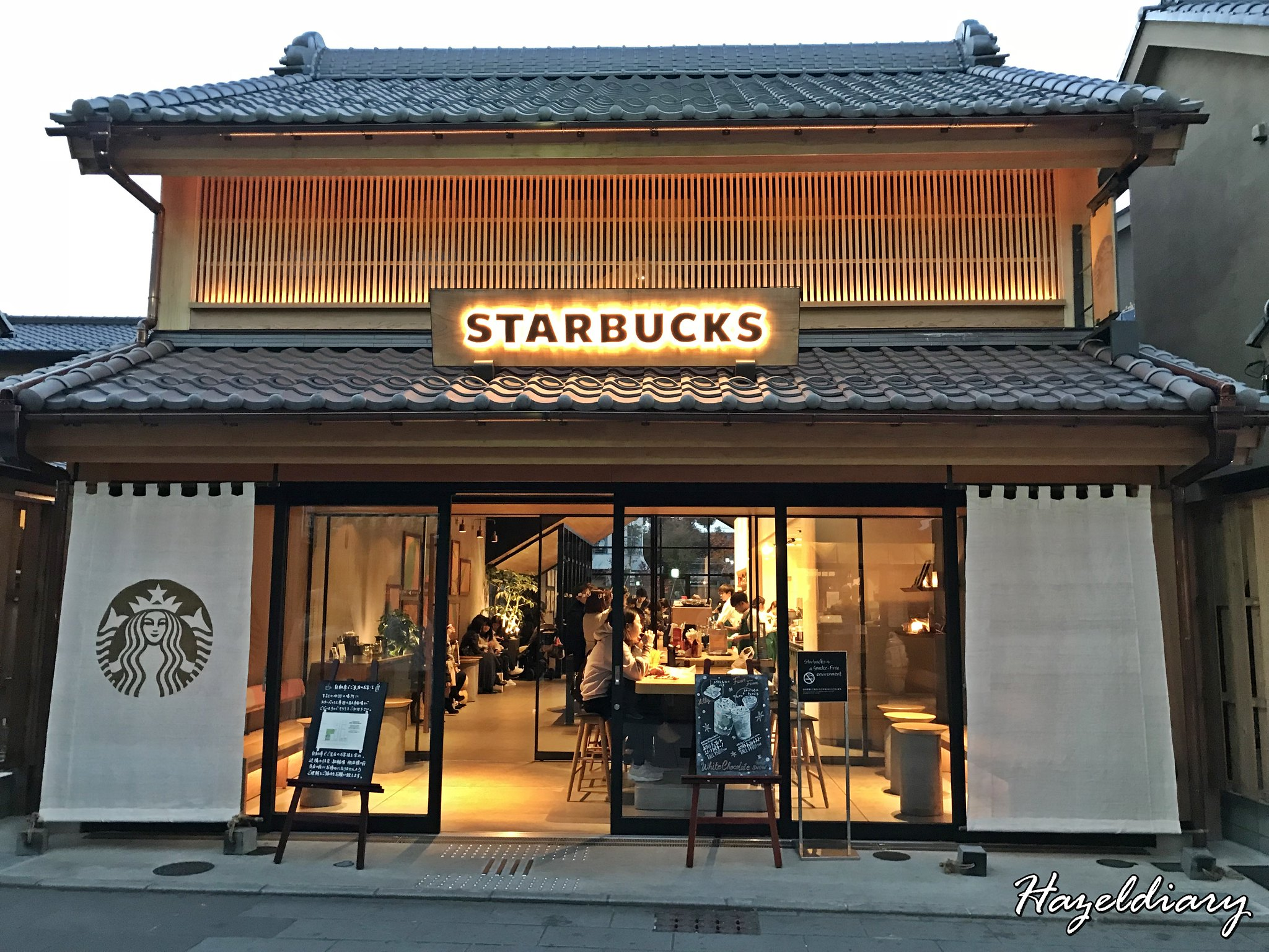 Kawagoe Japan-Starbucks