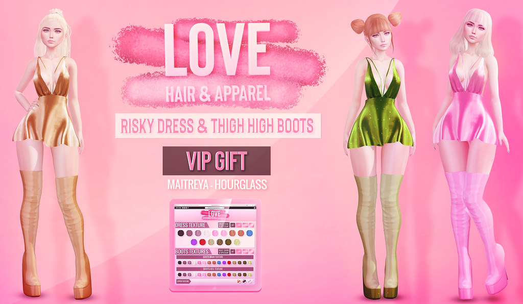 Love [Risky Dress & Thigh High Boots] – St. Patty's VIP GIFT @ The MAIN STORE!
