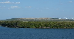 Tampa Area Landfill Seen from Carnival Miracle