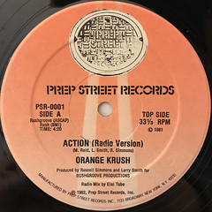 ORANGE KRUSH:ACTION(LABEL SIDE-A)