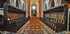 Les stalles de la cathédrale de Saint-Pol de Léon