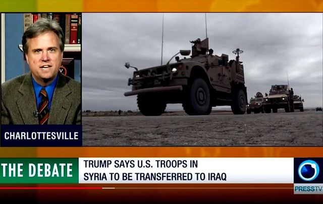 David Swanson: US Middle East Plan + Trump's Syria Pullout Aimed at Aggressing Iran by Finian Cunningham