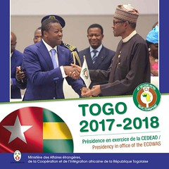 """@rdussey : Launch of the book : """"Review on the Togolese Presidency of the ECOWAS""""2017-2018 https://t.co/0vC7B5Jxjp"""