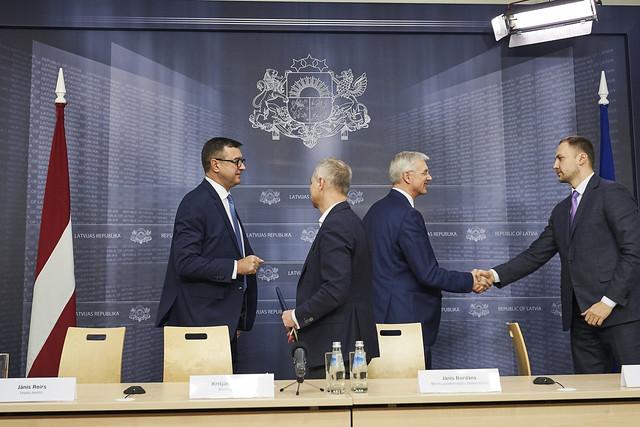 20.02.109. Ministru prezidenta Krišjāņa Kariņša preses konference pēc Finanšu sektora attīstības padomes sēdes
