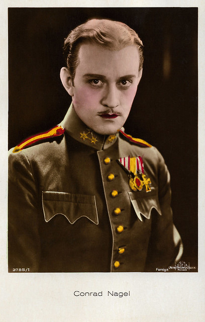 Conrad Nagel in The Mysterious Lady (1928)