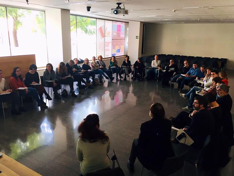 2a trobada del curs amb les direccions dels centres educatius participants d'IntersECCions