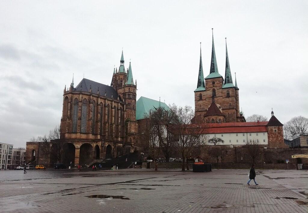 Domplatz - Erfurt