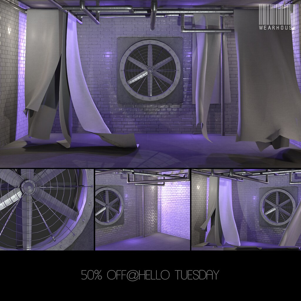 ★Vent50%OFF@HelloTuesday - TeleportHub.com Live!