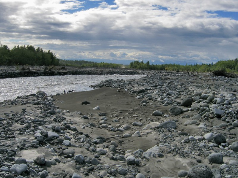 Река Студеная, Камчатка