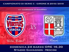 Virtus Verona - Rimini 3-0 FINALE